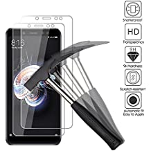 ANEWSIR [2 pack] Xiaomi Redmi Note 5 Pro Protector de pantalla, Cristal Vidrio Templado Premium 9H definición, Xiaomi Redmi Note 5 Pro Ultra-transparente,Sin Burbujas,Resistente a Arañazos.