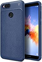 Annure® Premium Shockproof TPU Back Cover Case for Honor 7X (Blue)