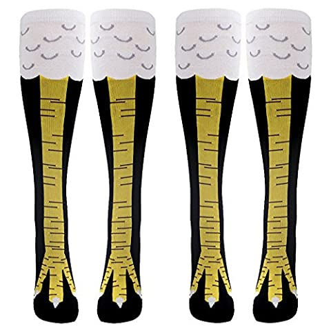 Gmark Womens Fun Chicken Legs Image Cute Cotton Athletic Soccer
