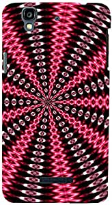PrintVisa Pattern Abstract Case Cover for YU Yureka