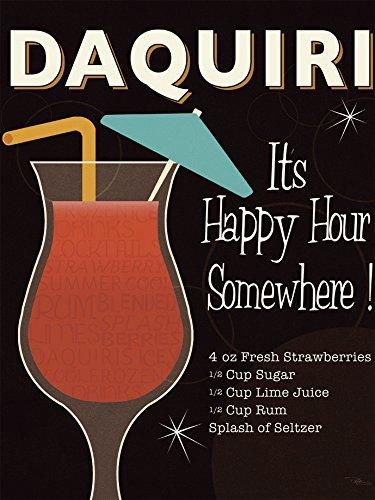 Leinwandbild Cocktail Bar
