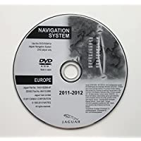 2012 JAGUAR SAT NAV MAP UPDATE DISC NAVIGATION DVD EUROPE