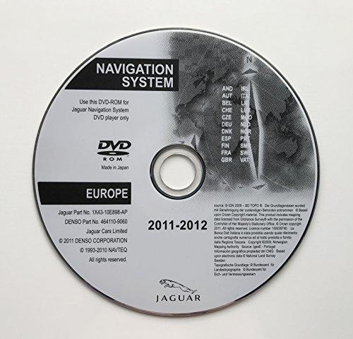 2012Jaguar SAT NAV Map Update Disc Navigation DVD Europa (Gps-update-disk)