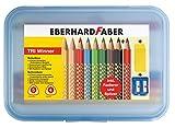 Eberhardt Faber 518425 - Set matite TRI Winner, 11 pezzi