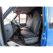 Fundas de asiento schonbezüge Fundas Ford Transit MK6, MK72000–2012Negro