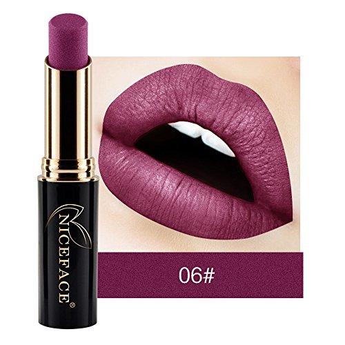 Mat Rouge à Lèvres,Lip Lingerie Liquide Waterproof Brillant À Lèvres Maquillage 12 Nuances Bringbring
