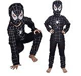 AraignéE Noire Costume Homme 3-4 Ans Spider Man Carnaval DéGuisement Et De Halloween Petit GarçOn (VéRifier Les Mesures En CentimèTres De Taille) Spiderman S Taille - Solutions De Haute Activité