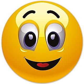 Smiley Fun Aufkleber Motiv 5, 20 cm, selbstklebend, glänzend für Auto, Motorrad, Fahrrad, Boot oder Caravan