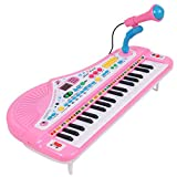 Keyboard Kinder, CT-Tribe 37-Tasten Klavier Kinder Keyboard mit Mikrofon Kinder Spielzeug