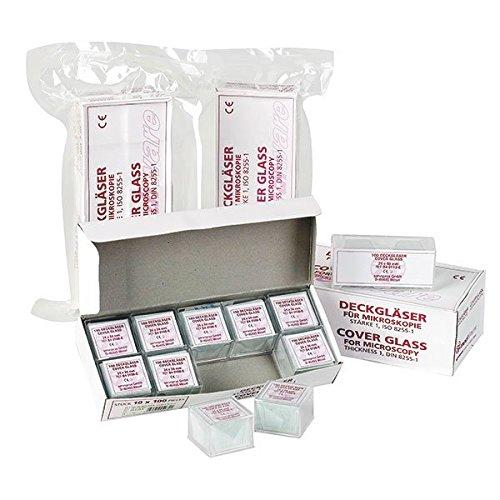 Mediware B4 0101-E ECO-Deckgläser (1000-er Pack) size 18 x18mm