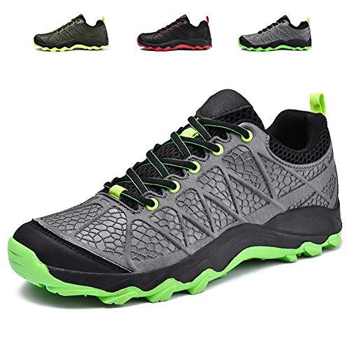 Scarpe da Escursionismo Arrampicata Sportive All'aperto Impermeabili Traspiranti Trekking Sneakers da Uomo