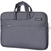 "Laptop Sleeve NATOL, FundaProtectoraparaPortátiles,MaletínOrdenador Portátil de 13"" a 13,3"", Funda Impermeable para iPadPro,OrdenadorPortátil,MacBookAiryMacBookPro"