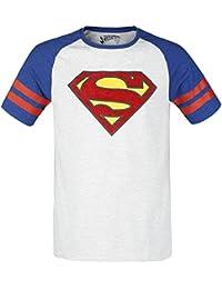 Superman Athletics Camiseta jaspeado gris claro/jaspeado gris oscuro