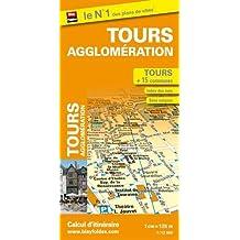 Plan de Tours et de son agglomération