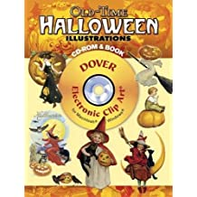 Old-Time Halloween Illustrations CD-ROM and Book (Dover Electronic Clip Art) by Carol Belanger Grafton (2007-08-31)