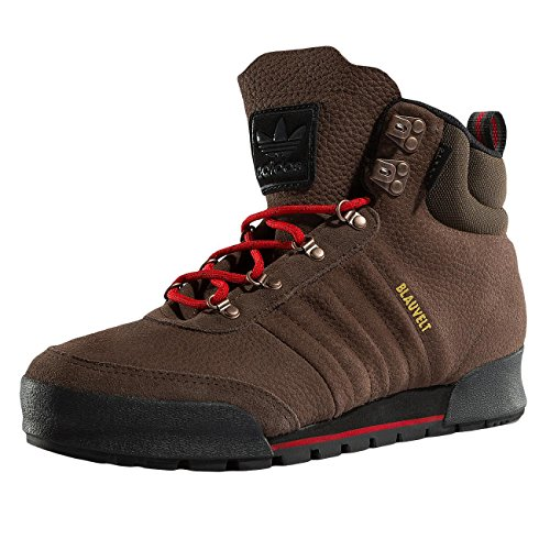 Herren-casual-boot-schuhe (adidas Herren Jake Boot 2.0 Skateboardschuhe, Verschiedene Farben (Braun-(Marron/Escarl/Negbas), 43 1/3 EU)
