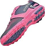 Grays GX550Field hockey sport scarpe stringate calzature scarponi scarpe da corsa, Navy/Pink