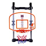 GUOGUO Kinder Spielzeug Zum Aufhängen Basketball Steht Innen Sport Basketballkorb Netz mit Score Anzeige für Kinder