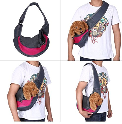 BENWEI Classics High-quality Breathable Dog Front Carrying Bags Mesh Comfortable Travel Tote Shoulder Bag For Puppy Cat… 5