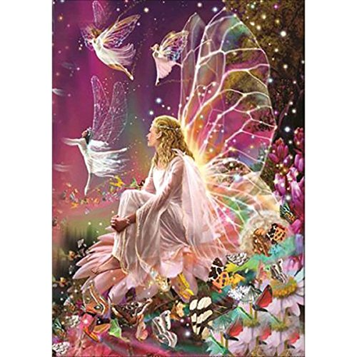 Diamond Painting,Hearts Fairy DIY Diamond Cross Stitch Pictures -