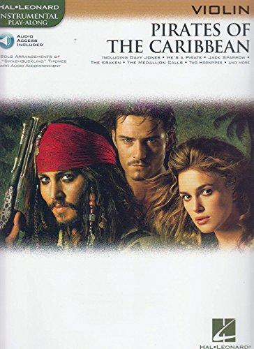 Fluch der Karibik für Violine solo inkl. CD, 15 beliebte Melodien [Musiknoten]