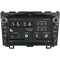 witson® per Honda CR-V 2007–2011in-dash lettore DVD di navigazione GPS navigatore satellitare con touchscreen capacitivo supporto SD/USB/iPod/iPhone/3g/videocamera/DVR/Backup/Bluetooth per vivavoce/Controllo del volante