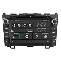 WitsonFor 2007-2011 Honda CR-V In-dash DVD GPS Sat Nav Navigation Player With Capacitive Touchscreen support SD/USB/iPod/iPhone/3G/ Video/DVR/Back up camera/Bluetooth for handsfree/Steering Wheel control