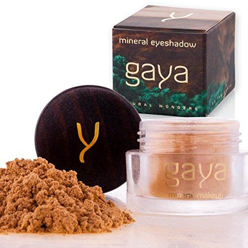 Gaya Cosmetics Vegan Lidschatten Pulver - Mineral Premium Makeup für ein gleichmäßiges homogenes & dynamisches Farbbild (SH17 Shade) -
