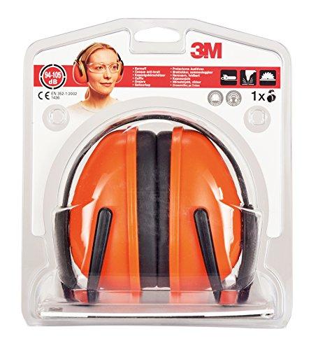 3M Kapselgehörschützer, 105 dB, Orange, 1436C