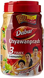 Dabur Chyawanprash Awaleha - 2 kg with Free Dabur Red Tooth Paste - 200 g