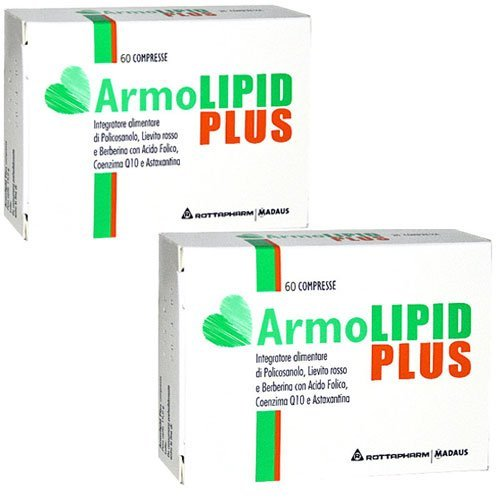 ArmoLipid plus 60X2 COMPRESSE