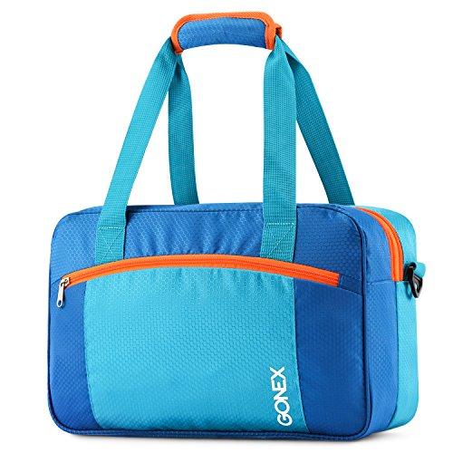 Gonex Sporttasche Swim Bag, große Kapazität Tote Bag, Trockene und nasse Trennung für Schwimmen Ausrüstung, Badeanzug