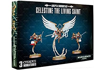 Celestine The Living Saint 52-58 - Adepta Sororitas - Warhammer 40,000
