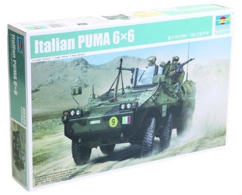 Trumpeter 05526 - Camionetta militare Italian Puma 6 x 6 Wheeled AFV, scala: 1:35