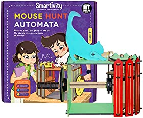 Smartivity Mouse Hunt Automata stem, DIY, Educational, Learning, Building and Construction Toy