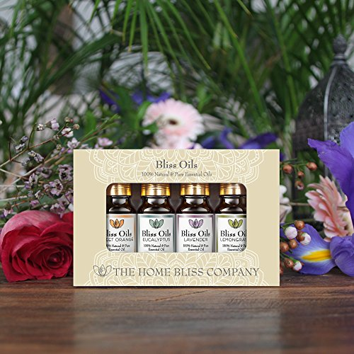 Bliss Öle Aromatherapie, ätherische Öle 100 % naturrein - 3