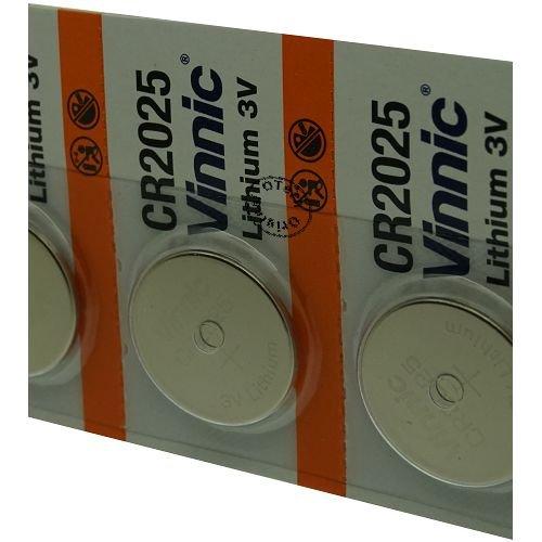 Pack di 5pile Vinnic per Swatch Touch bi-timer