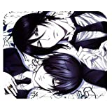 Custom Anime Black Butler High Quality Printing Rectangle Mouse Pad Design Your Own Computer Mousepad