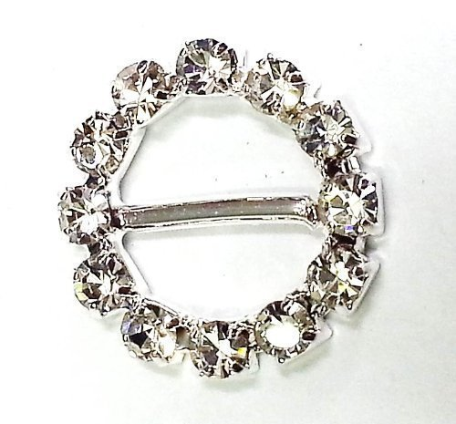 Preisvergleich Produktbild 4 Stück TEFLON-Möbelgleiter Rund,  Strasssteine,  Schnalle,  Für Grußkarten,  Hochzeitseinladungen