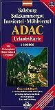 Salzburg, Salzkammergut, Innviertel, Mühlviertel, GPS-genau (ADAC Urlaubskarten) -