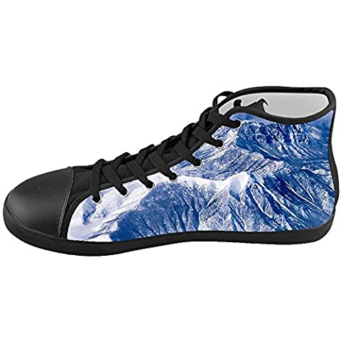 Dalliy snowy mountains Kids High-top Canvas Shoes Footwear Sneakers Shoes