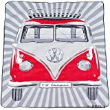 VW Collection by BRISA Picknickdecke, klassisch rot