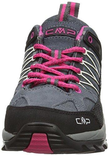 CMP Rigel - Scarpe da Arrampicata Basse Donna Grigio (Grey (Grey-Fuxia-Ice 103Q))