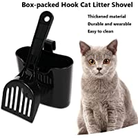 SAWEY Cat Litter Scoop, Pet Large Kitty Litter Box Cleaner Shovel Durable Sifter Shovel