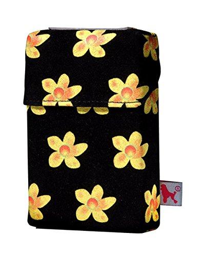 Abbildung: Smokeshirt modische Hülle für Zigarettenschachteln, Überzug, Etui, Zigarettenhülle für Zigarettenpackungen, Little Flower