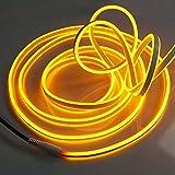 Neon Lichtschlauch, Länge 9 m, 1080 LED gelb, IP44 für außen von Gartenpirat®