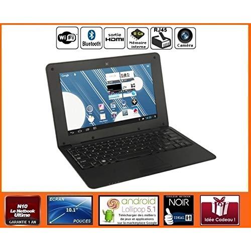 Netbook Noir Android HDMI écran 10.1 Pouces (WiFi-SDHC) - FPO-WMC-0136B_27