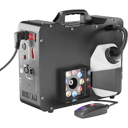 Renkforce DB-L6F Nebelmaschine inkl. Kabelfernbedienung, inkl. Funkfernbedienung, mit Lichteffekt -