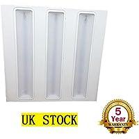 Puyi® - Calandra, griglia da soffitto LED, a pannelli, 40