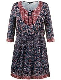 Ulla Popken Damen Grandes tailles Robe 707543